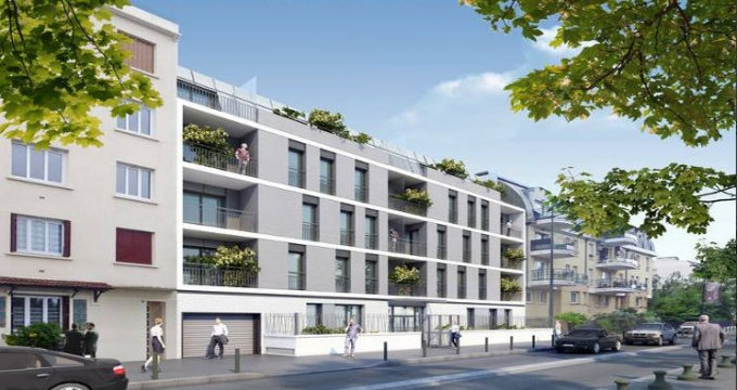 Achat / Vente programme immobilier neuf Alfortville au bord des rives de la Seine (94140) - Réf. 3366