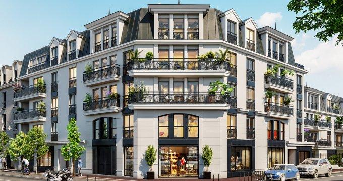 Achat / Vente programme immobilier neuf Antony proche du centre-ville (92160) - Réf. 5280
