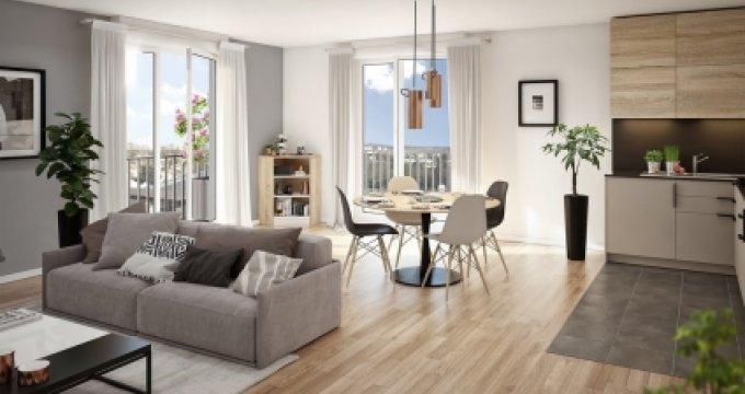 Achat / Vente programme immobilier neuf Argenteuil proche gare d'Argenteuil (95100) - Réf. 3469