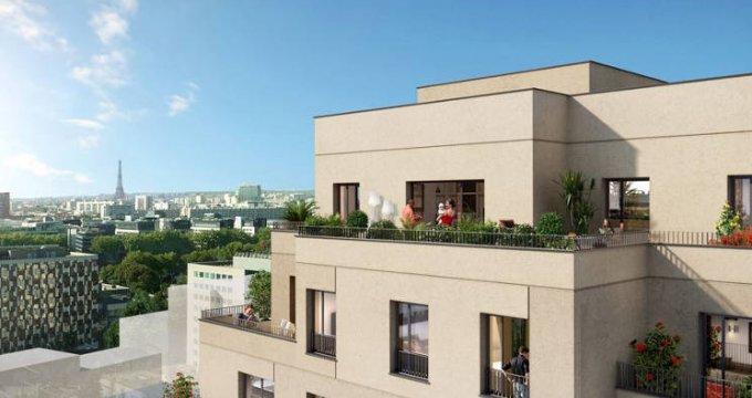 Achat / Vente programme immobilier neuf Asnières-sur-Seine au cœur quartier  Seine Ouest (92600) - Réf. 5278