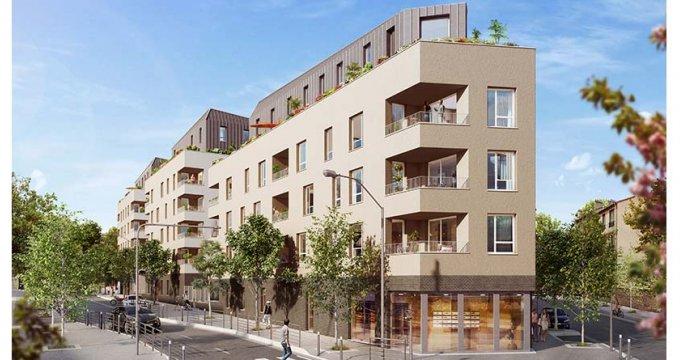 Achat / Vente programme immobilier neuf Bagnolet côté Lilas (93170) - Réf. 2164