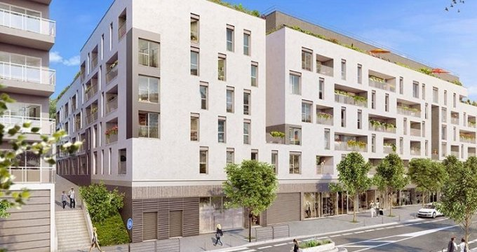 Achat / Vente programme immobilier neuf Bagnolet proche centre-ville (93170) - Réf. 1807