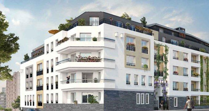 Achat / Vente programme immobilier neuf Bagnolet proche Hôtel de ville (93170) - Réf. 2303