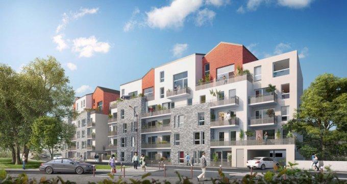 Achat / Vente programme immobilier neuf Bezons proche centre-ville (95870) - Réf. 1128