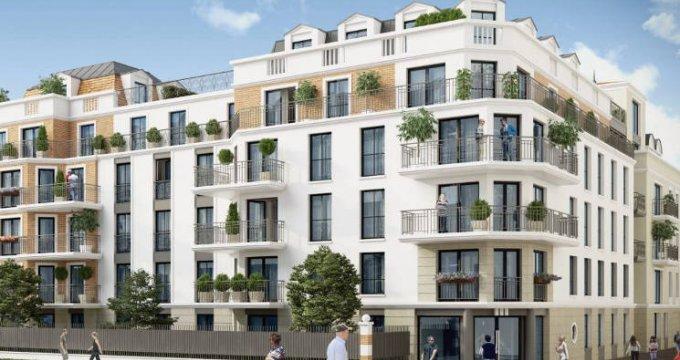 Achat / Vente programme immobilier neuf Blanc-Mesnil proche centre-ville (93150) - Réf. 4159