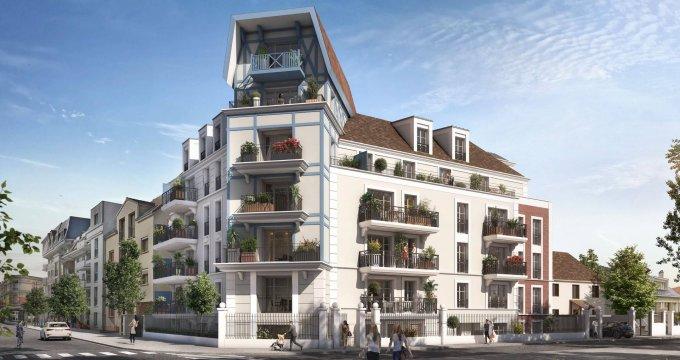 Achat / Vente programme immobilier neuf Blanc-Mesnil proche du centre-ville (93150) - Réf. 6248