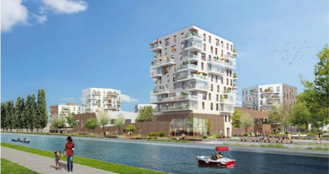 Achat / Vente programme immobilier neuf Bobigny au bord du canal de l'Ourcq (93000) - Réf. 559