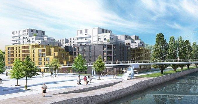 Achat / Vente programme immobilier neuf Bobigny écoquartier Écocité (93000) - Réf. 1325