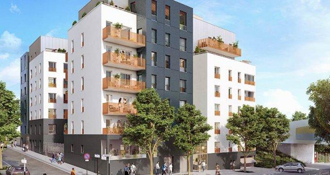 Achat / Vente programme immobilier neuf Bobigny proche Paris (93000) - Réf. 1848