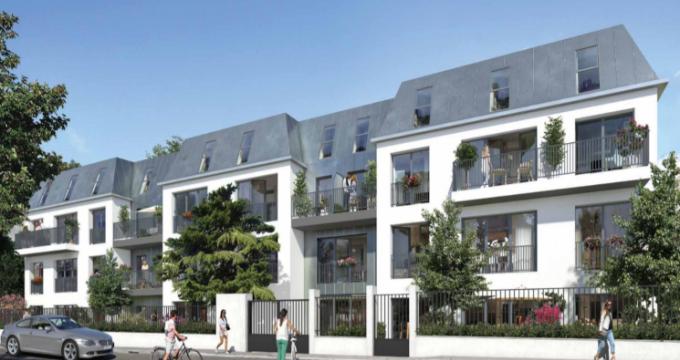Achat / Vente programme immobilier neuf Bourg-la-Reine à 500 m du coeur de ville (92340) - Réf. 5630