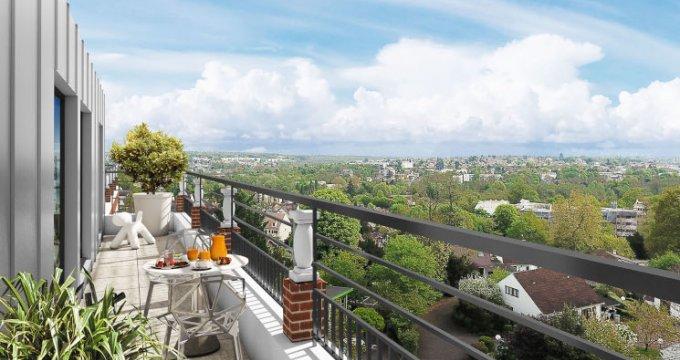 Achat / Vente programme immobilier neuf Brunoy proche de l'Yerres (91800) - Réf. 5447