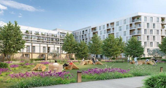 Achat / Vente programme immobilier neuf Bussy-Saint-Georges à deux pas du RER (77600) - Réf. 4627