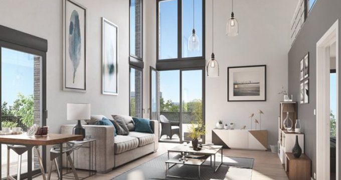 Achat / Vente programme immobilier neuf Cergy proche centre (95000) - Réf. 2825