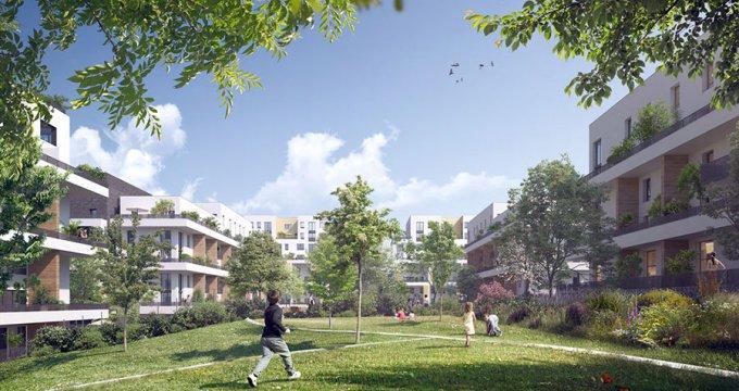 Achat / Vente programme immobilier neuf Cergy proche centre commercial les 3 Fontaines (95000) - Réf. 1674