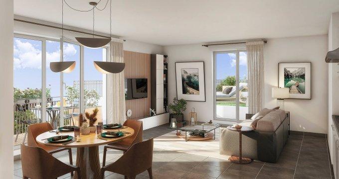 Achat / Vente programme immobilier neuf Champigny-sur-Marne centre-ville proche du pont (94500) - Réf. 6178