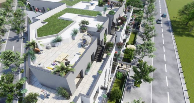 Achat / Vente programme immobilier neuf Champigny-sur-Marne long du parc de Tremblay (94500) - Réf. 4709