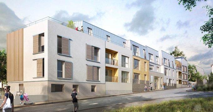 Achat / Vente programme immobilier neuf Chanteloup-les-Vignes centre-ville (78570) - Réf. 1800