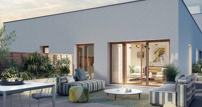 Achat / Vente programme immobilier neuf Châtenay-Malabry au sein de la Vallée (92290) - Réf. 6135