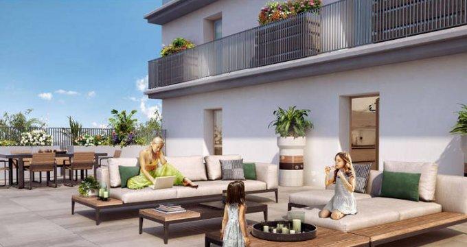 Achat / Vente programme immobilier neuf Chevilly-Larue au pied de la ligne T7 du tramway (94550) - Réf. 3427