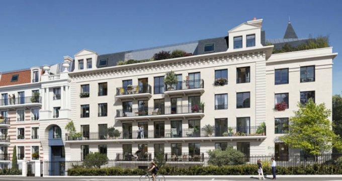 Achat / Vente programme immobilier neuf Clamart à 300 mètres de la gare (92140) - Réf. 4896
