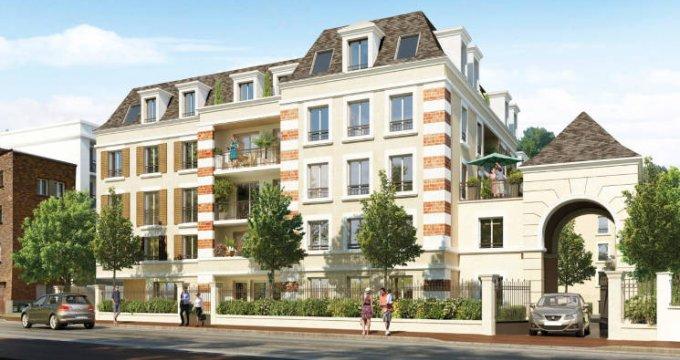 Achat / Vente programme immobilier neuf Clamart quartier Schneider-Percy (92140) - Réf. 3201