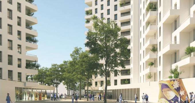 Achat / Vente programme immobilier neuf Clichy-la-Garenne proche métro 13 et RER C (92110) - Réf. 3610