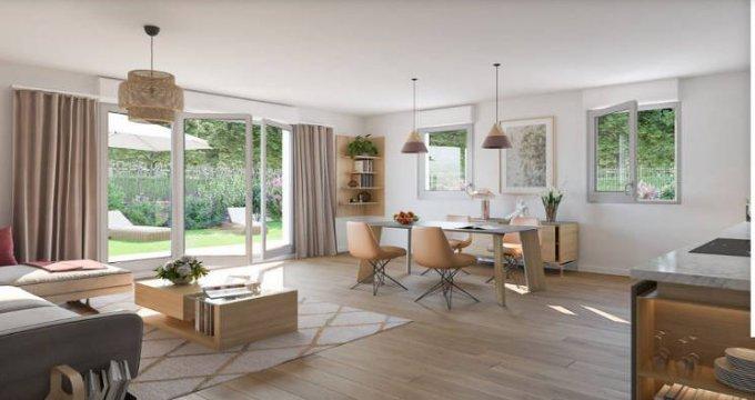 Achat / Vente programme immobilier neuf Combs-la-Ville proche RER D (77380) - Réf. 4434