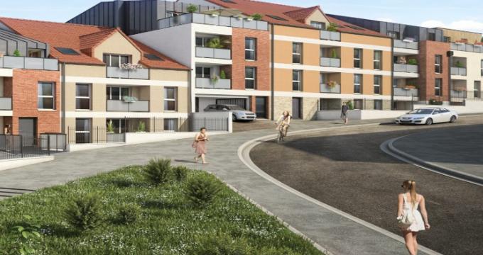 Achat / Vente programme immobilier neuf Corbeil-Essonnes proche centre-ville (91100) - Réf. 5026