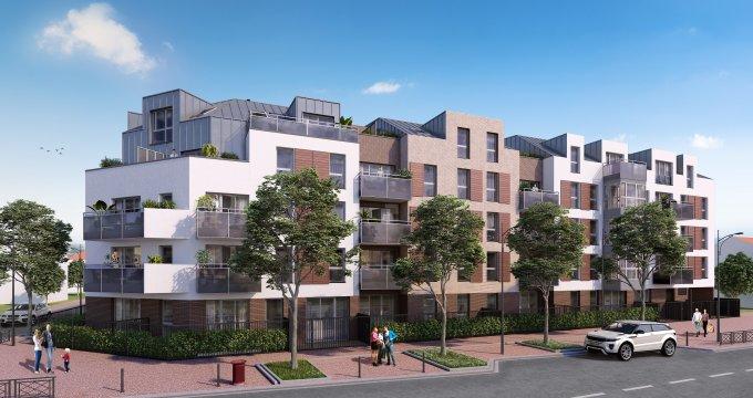 """Achat / Vente programme immobilier neuf Créteil proche quartier """"Centre Ancien"""" (94000) - Réf. 3915"""