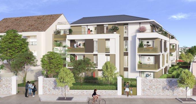 Achat / Vente programme immobilier neuf Dammarie-lès-Lys proche gare de Melun (77190) - Réf. 3265