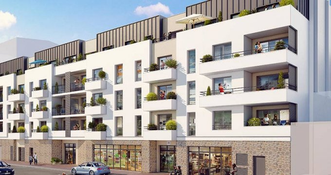 Achat / Vente programme immobilier neuf Drancy proche de la station Le Bourget (RER B + T11) (93700) - Réf. 6204