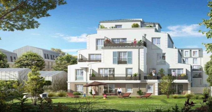 Achat / Vente programme immobilier neuf Franconville à 600m du RER C (95130) - Réf. 5976