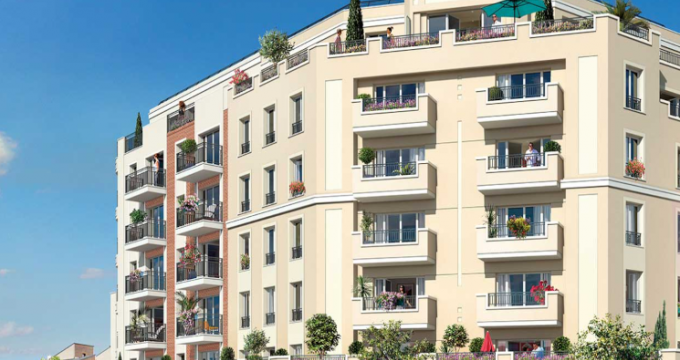 Achat / Vente programme immobilier neuf Gagny (93220) - Réf. 5016