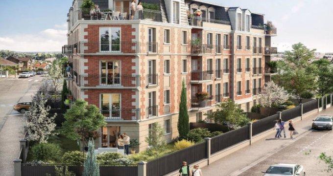 Achat / Vente programme immobilier neuf Gagny à deux pas de la gare de Chénay Gagny (93220) - Réf. 5860