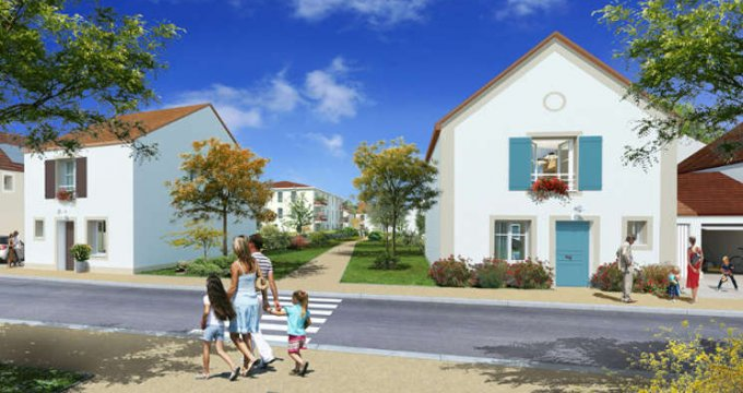 Achat / Vente programme immobilier neuf Guibeville proche d'Arpajon (91630) - Réf. 1690