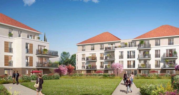 Achat / Vente programme immobilier neuf Jouy-le-Moutier quartier Eguerets-Bruzacques (95280) - Réf. 3269
