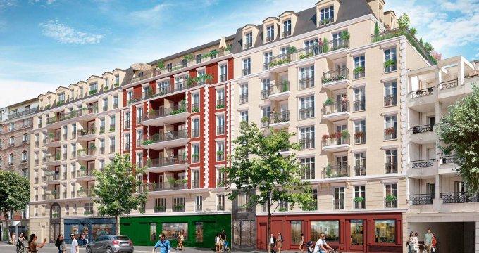 Achat / Vente programme immobilier neuf La Garenne-Colombes entre la rue du Château et le boulevard de la République (92250) - Réf. 2589