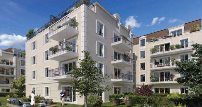 Achat / Vente programme immobilier neuf Le Blanc-Mesnil proche commerces et marché (93150) - Réf. 4537