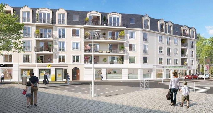 Achat / Vente programme immobilier neuf Le Plessis Bouchard proche centre-ville (95130) - Réf. 2895