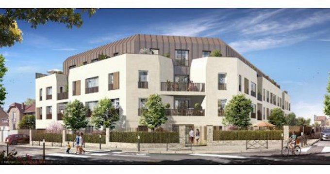 Achat / Vente programme immobilier neuf Les Mureaux à 300 mètres de la gare (78130) - Réf. 4963
