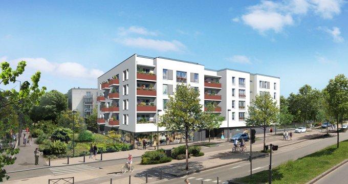 Achat / Vente programme immobilier neuf Les Mureaux à l'entrée du Pôle Molière (78130) - Réf. 1608