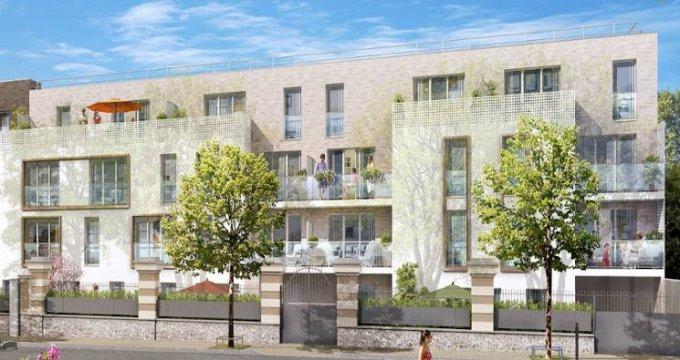 Achat / Vente programme immobilier neuf Les Pavillons-sous-Bois à 700 mètres du Transilien (93320) - Réf. 4421