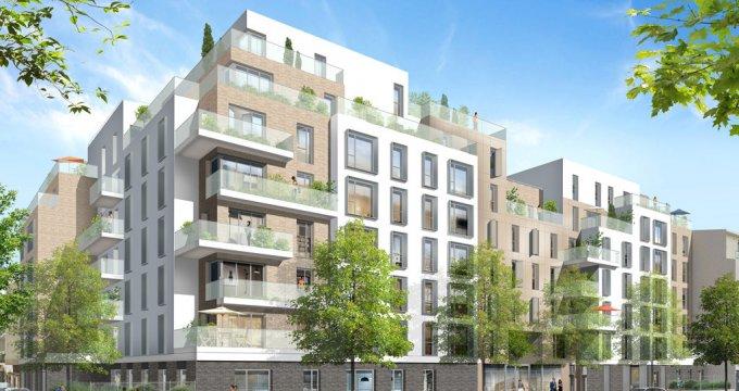 Achat / Vente programme immobilier neuf Les Pavillons-sous-Bois cœur de ville (93320) - Réf. 2210
