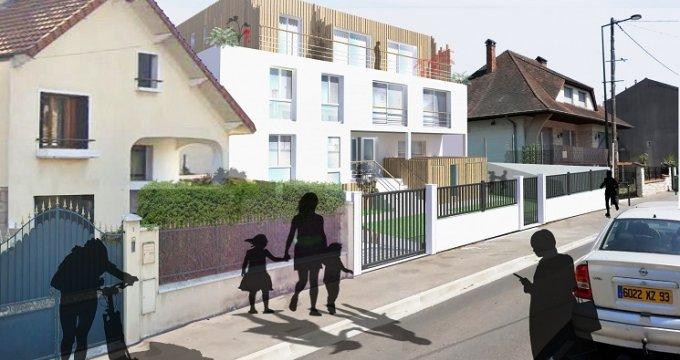 Achat / Vente programme immobilier neuf Les Pavillons-sous-Bois proche tramway 4 (93320) - Réf. 4925