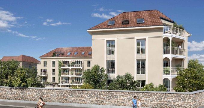 Achat / Vente programme immobilier neuf Limeil-Brévannes proche centre-ville (94450) - Réf. 6276