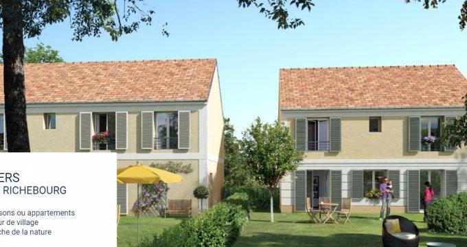 Achat / Vente programme immobilier neuf Maffliers centre-village (95560) - Réf. 565