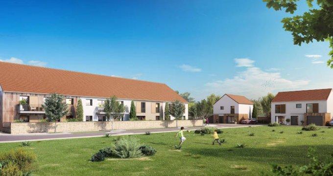 Achat / Vente programme immobilier neuf Mauchamps au coeur du village (91730) - Réf. 4201