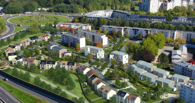 Achat / Vente programme immobilier neuf Melun proche mairie (77000) - Réf. 1660