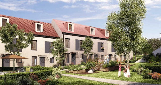 Achat / Vente programme immobilier neuf Mennecy proche gare RER (91540) - Réf. 2422