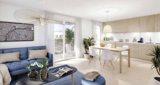 Achat / Vente programme immobilier neuf Mitry-Mory proche parc Corbion (77290) - Réf. 6180